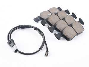 ES#4004363 - EUR1762 - Rear Euro Ceramic Brake Pad Set EUR1762 - Restore the stopping power in your MINI, comes with front brake sensor - Akebono - BMW MINI