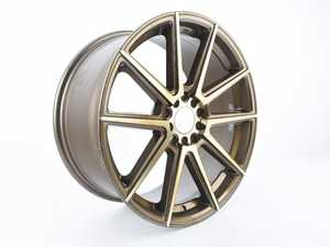 ES#4005387 - F27188510HBZ4SDa - F27 18x8.5 5x100/114.3 40ET Machined Bronze - Priced Each - *Scratch And Dent* - *Please see description prior to ordering* - F1R Wheels - Audi Volkswagen
