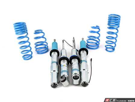 ES#3023004 - 49-234923 - Bilstein B16 EDC Coil Over Suspension - E60 M5 - This Bilstein B16 suspension kit allows you to lower your EDC equipped E60 M5 while maintaining all the factory EDC functions. - Bilstein - BMW