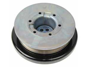 ES#3028896 - 11238638534 - Crankshaft Pulley - This is the main crank pulley and harmonic balancer assembly. - Genuine BMW - BMW