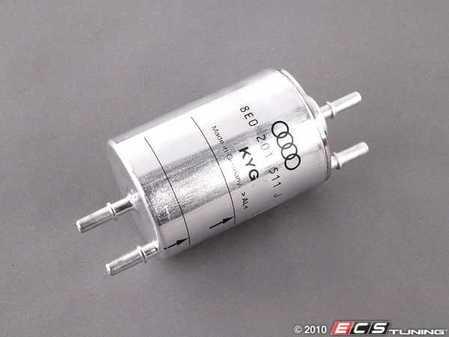 ES#436474 - 8E0201511J - Fuel Filter - With pressure regulator - Genuine Volkswagen Audi - Audi