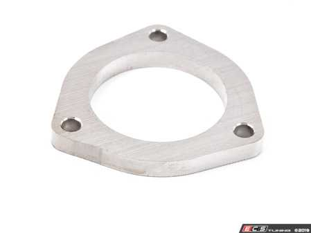 "ES#4007188 - 028092ecs05aKT -  2.5"" Stainless Steel 3-Bolt Flange - Priced Each - Universal 3-Bolt flange for your custom exhaust project. Extra thick 10mm flange to avoid warping. - ECS - Audi BMW Volkswagen Mercedes Benz MINI Porsche"