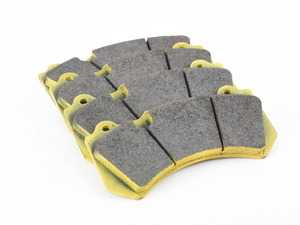 ES#3546291 - 808129 - RSL29 Yellow Endurance Racing Brake Pads - Front - Popular street and endurance racing pad. Same friction material used in several European racing series. - Pagid Racing - Audi Mercedes Benz