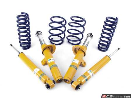 ES#3647937 - F30XDRCUPKT - Performance Suspension Cup Kit - Sport - German components for your German car - Bilstein B8 Performance Plus dampers paired with H&R Sport springs. Limited lifetime warranty. - Assembled By ECS - BMW