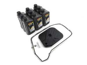 ES#3690996 - 0BK398009AKT - 8-Speed Automatic Transmission Service Kit - Includes the necessary filter, plug, gasket, and fluid to service your transmission - Assembled By ECS - Audi