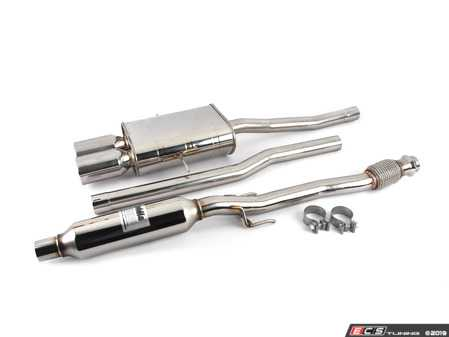 """ES#3142999 - HS07MCSGTP - 2.36"""" Cat-Back Exhaust System - Featuring 101mm dual rolled stainless tips! - Invidia - MINI"""