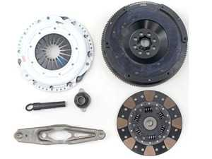 ES#4007167 - 03465-HDFF-AK - Stage 3+ MINI Cooper 1.5L Clutch Kit - FX350 - Kit includes a Hi-Leveragetm Heavy Duty Pressure Plate; Formula Button friction material with a dampened disc; Alignment Tool; and 14lbs Light Weight Aluminum Flywheel. - Clutch Masters - MINI