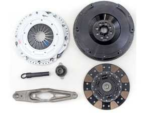 ES#4007168 - 03465-HDFF-SK - Stage 3+ MINI Cooper 1.5L Clutch Kit - FX350 - Kit includes a Hi-Leverage Heavy Duty Pressure Plate; Formula Button friction material with a dampened disc; Alignment Tool; and 25lbs Light Weight Steel Flywheel. - Clutch Masters - MINI