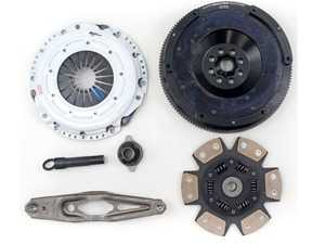 ES#4007170 - 03465-HDC6-AK - Stage 4 MINI Cooper 1.5L Clutch Kit - FX400 - Kit includes a Hi-Leveragetm Heavy Duty Pressure Plate; 6-Puck Ceramic, Dampened Disc; Alignment Tool; and 14lbs Light Weight Aluminum Flywheel - Clutch Masters - MINI