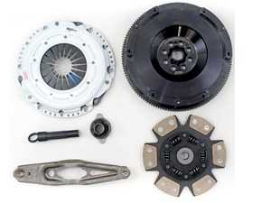 ES#4007196 - 03465-HDC6-SK - Stage 4 MINI Cooper 1.5L Clutch Kit - FX400 - Kit includes a Hi-Leveragetm Heavy Duty Pressure Plate; 6-Puck Ceramic, Dampened Disc; Alignment Tool; and 25lbs Light Weight Steel Flywheel - Clutch Masters - MINI