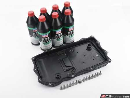 ES#4007164 - 24118612901KT2 - Automatic Transmission Service Kit - Includes all the necessary components for a complete transmission service, featuring Liqui Moly fluid! - Assembled By ECS - BMW