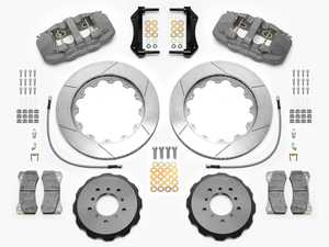 ES#3701749 - 140-14978 - AERO6 Front Big Brake Kit - Race - A true racing big brake kit with anodized 6-piston calipers, two-piece slotted rotors, and race-spec BP-30 compound pads. - Wilwood - BMW