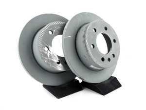 ES#3691377 - 9064230012KT - 2500/3500 Sprinter Rear Brake Disc Set - Genuine Mercedes-Benz Replacement Rear Rotors - Genuine Mercedes Benz - Mercedes Benz