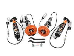 ES#3468778 - M505127 - Moton Clubsport 2-Way Dampening Kit - Includes Moton Springs - Exceptionally high quality dampening system featuring 15 way adjustability and remote reservoirs, designed from the ground up for both high performance street and track applications. - Moton - BMW