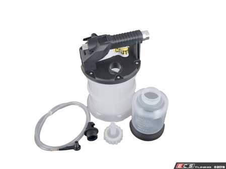 ES#3971256 - 029018SCH01A - Pneumatic Brake Fluid Changer 2 Liter - This kit allows for one man brake bleeding. Comes with everything you need to bleed brakes. Air operated. - Schwaben - Audi BMW Volkswagen Mercedes Benz MINI Porsche