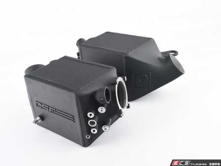 ES#3477950 - 8109 - Twin Charge-Air-Cooler Set - Crinkle Black - Lower your intake temperatures and greatly improve your performance! - CSF - BMW