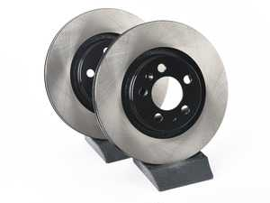 ES#3536647 - 025997ECS0207KT - Front V4 Brake Rotors - Pair (280x22) - Precision manufactured and featuring an electrostatic rust-inhibiting coating - ECS - Volkswagen