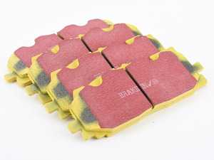 ES#3998961 - Dp42277R - Front YellowStuff Performance Brake Pad Set - A race quality pad that can be used at the track, and then get you back home again. - EBC - Audi