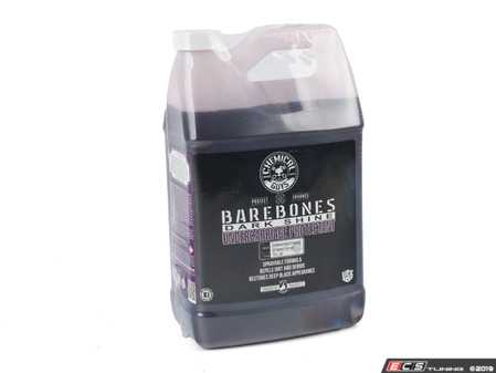 ES#2619225 - TVD104 - BareBones Undercarriage Spray - 1 Gallon - Bare Bones is a premium undercarriage spray dressing specifically formulated to protect and enhance hard-to-reach areas like the wheel wells, subframes, springs, and fender liners. - Chemical Guys - Audi BMW Volkswagen Mercedes Benz MINI Porsche