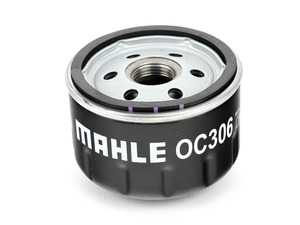 ES#3172567 - 11427673541 - Oil Filter - Purifies engine oil; replace with each oil service - Mahle - BMW