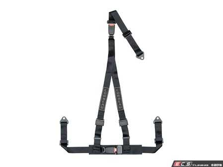 ES#4005601 - 43201B - Black 3-Point Double Release Bolt-In - Upgrade your factory seat belts with these Corbeau 3-Point Harness Double Release belts - Corbeau - Audi BMW Volkswagen Mercedes Benz MINI Porsche