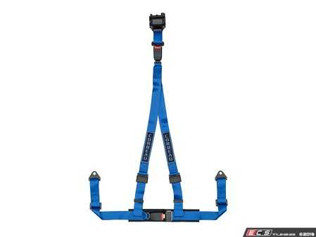 ES#4005605 - 43305B - Blue 3-Point Retractable Bolt-In - Upgrade your factory seat belts with these Corbeau 3-Point Harness Retractable belts - Corbeau - Audi BMW Volkswagen Mercedes Benz MINI Porsche