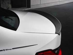 ES#4017299 - 3109-32021 - G20 3-Series Carbon Trunk Spoiler - A subtle kick with timeless carbon fiber good looks. - 3D Design - BMW