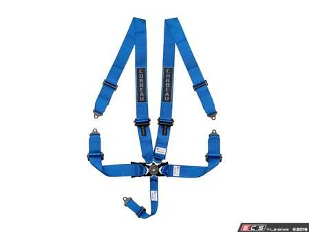 ES#4005620 - 53005B - Blue 5-Point Camlock - Upgrade your factory seat belts with these Corbeau 5-Point Harness belts - Corbeau - Audi BMW Volkswagen Mercedes Benz MINI Porsche