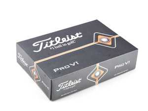 ES#190879 - 80270411174 - BMW Titleist Pro V1 Golf Balls - Box of 12 - High performance for your golf game - Genuine BMW - BMW
