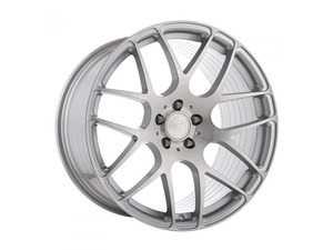 """ES#4017531 - m610ls51220852KT - 20"""" M610 - Set Of Four - 20""""x8.5"""" ET32 / 20""""x10"""" ET35 5x112 - Liquid Silver - Avant Garde - Audi Volkswagen"""