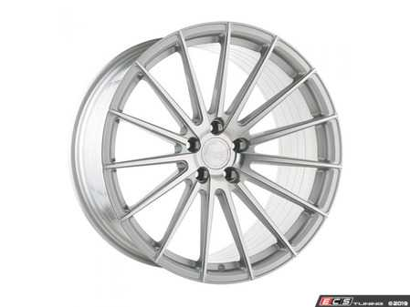 "ES#4017558 - 615gsm5121985KT5 - 19"" M615 - Set Of Four - 19""x8.5"" ET45 / 19""x9.5"" ET48 5x112 - Silver Machined - Avant Garde - Audi Volkswagen"