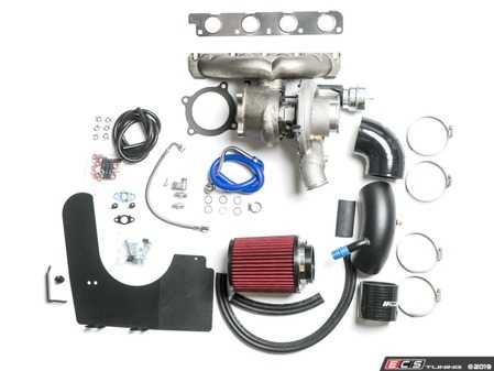 ES#4017688 - CTS-B8A4-BOSS600 -  CTS Turbo B8/B8.5 2.0T BOSS 600 Turbo Kit - GTX3071R - A big turbo kit that is truly bolt-on! - This kit replaces the factory turbo and is made to work with most of your installed parts - CTS - Audi