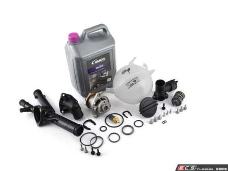 ES#4017071 - 03h121117aKT - Cooling System Refresh Kit - This coolant refresh kit covers the most common failures in the cooling system on your 3.6L VR6 engine - Assembled By ECS - Volkswagen