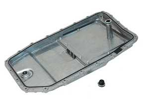 ES#3623889 - 24152333903PRM - Transmission Oil Pan & Filter Kit - Aluminum construction with replaceable filter - URO - BMW