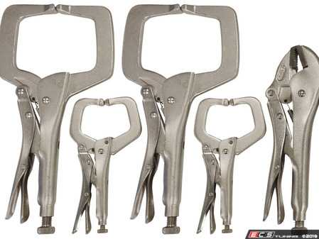 ES#4017770 - ATD15015 - 5 Pcs Locking Welding Clamp Set - ATD Tools - Audi BMW Volkswagen Mercedes Benz MINI Porsche