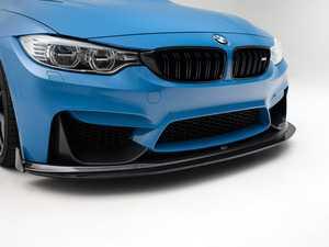ES#4020062 - 023231TMS12 - Modular Carbon Fiber Front Lip & Splitter - Aggressive carbon fiber front lip With optional adjustable, functional MC2P composite splitter and carbon fiber winglets - Turner Motorsport - BMW