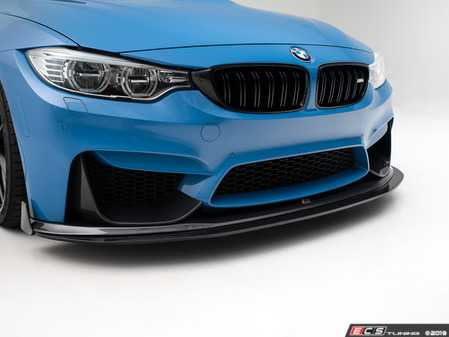 ES#4020062 - 023231TMS12 - Modular Carbon Fiber Front Lip & Splitter - Aggressive carbon fiber front lip With optional adjustable, functional MC2P composite splitter and carbon fiber winglets - Turner Motorsport - BMW