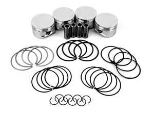 ES#3639942 - SC7513 - CP Forged Piston & Ring Set (Set Of 4) - 77mm (standard Size) CR(9.5) - Performance pistons in standard size - Carillo - MINI