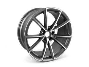 "ES#2589866 - 8T0601025CQ - 20"" RS5 Y-Spoke Wheel - Priced Each - 20""x9"" ET26 5x112 Titanium/Aluminum face - Genuine Volkswagen Audi - Audi"
