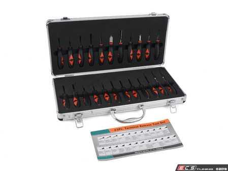 ES#3979330 - 029009SCH01A - 23 Piece Terminal Tool Kit - Professional quality Terminal Release Tool Set - Schwaben - Audi BMW Volkswagen Mercedes Benz MINI Porsche