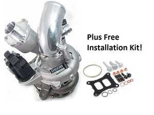 ES#4017898 - IS38+KT - Shuenk IS38+ MQB Turbo Upgrade + FREE Installation Kit - A ready-to-install turbocharger kit with performance and reliability enhancing upgrades - Shuenk - Audi Volkswagen