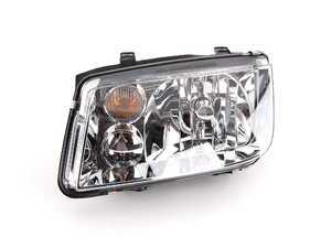 ES#5327 - 1J5941017AJ -  Headlight - left - Without fog light, with amber turn signal lens - Hella - Volkswagen