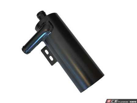 ES#4020131 - 034-101-4000 - Universal Vortex Breather Catch Can  - Sold in a black powdercoated finish. - 034Motorsport - Audi BMW Volkswagen Mercedes Benz MINI Porsche