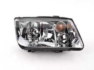 ES#5328 - 1J5941018AJ -  Headlight - Right - Without fog light, with amber turn signal lens - Hella - Volkswagen