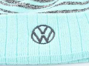ES#4001731 - DRG004853AQUOS - Pom Striped Knit Cap - A perfect fit for this season. - Genuine Volkswagen Audi - Volkswagen