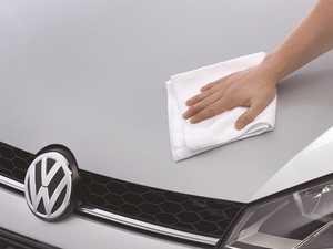 ES#3241574 - 000096151MDSP - Weathertech Super White Microfiber Cleaning Cloth - WeatherTech Microfiber cloths are made of 80% polyester and 20% polyamide. - Genuine Volkswagen Audi - Volkswagen