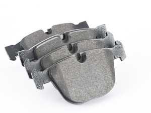 ES#3035379 - 34216768471 - Rear Brake Pad Set - Quality aftermarket pads from OEM Hella - Hella - BMW