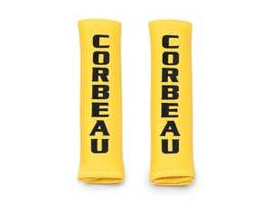 "ES#4005616 - 50503 - 3"" Yellow Harness Pads - Pair - Corbeau Harness Pads provide extra comfort and support to your Harness Belts. - Corbeau - Audi BMW Volkswagen Mercedes Benz MINI Porsche"