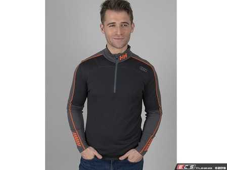 ES#4020703 - ACM2072BLKMD - Helly Hansen Lifa Active 1/2 Zip - Medium - HH LIFA Active is a performance base layer, delivering superior moisture management and lightweight insulation for all year activities. - Genuine Volkswagen Audi - Audi