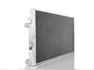 ES#3698283 - 004257ecs01KT -  VW/Audi 2.0T TSI Performance Aluminum Radiator  - Direct-fit upgrade! Featuring a 20% increase in cooling system capacity along with a durable, all aluminum construction - ECS - Audi Volkswagen
